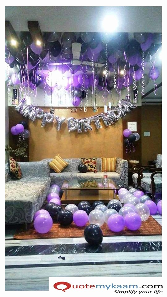 Birthday Decoration Ideas 2020 Inspirational Birthday Decoration at Home In 2020