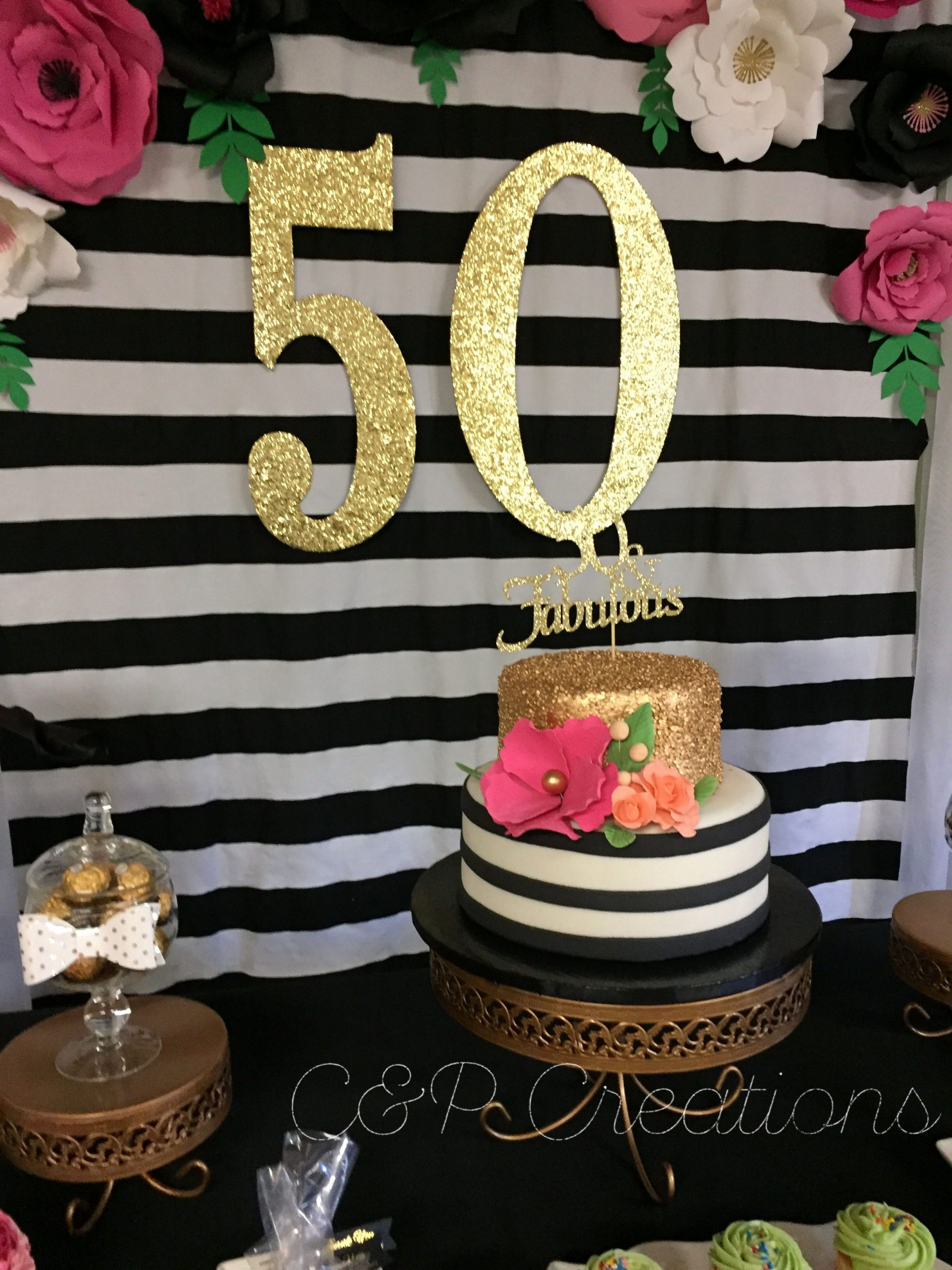Birthday Decoration Ideas 50th Best Of Awesome 50 Year Birthday Decoration Ideas