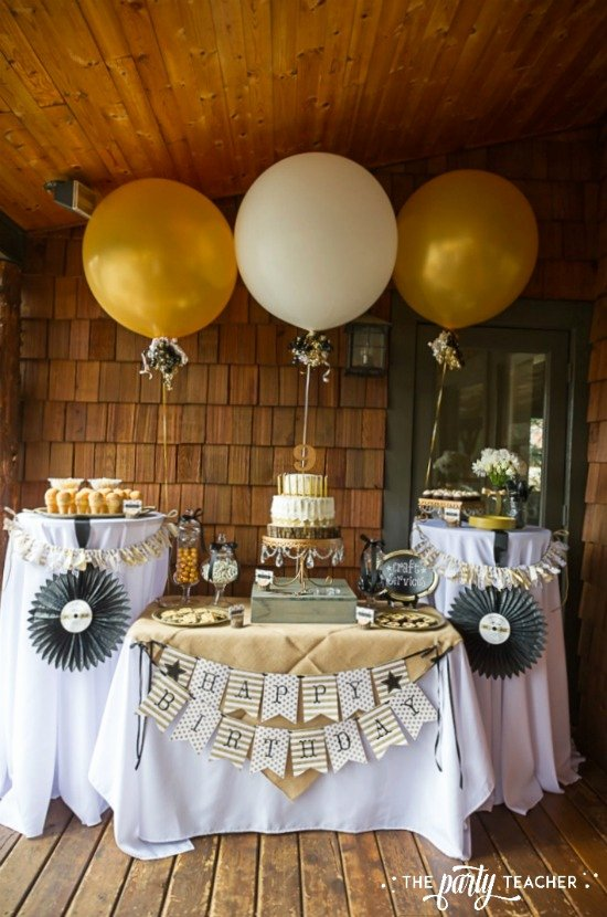 Birthday Decoration Ideas 50th Lovely 10 Unique Happy 50th Birthday themes – Tip Junkie