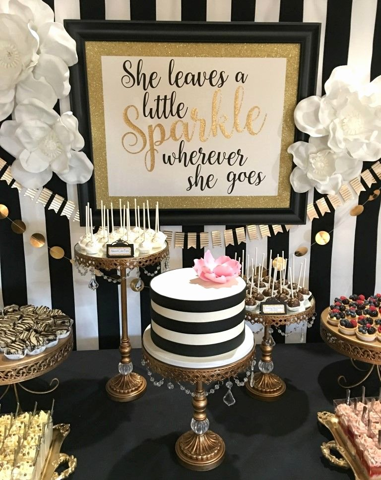 Birthday Decoration Ideas 50th Lovely Kate Spade themed Party Ideas
