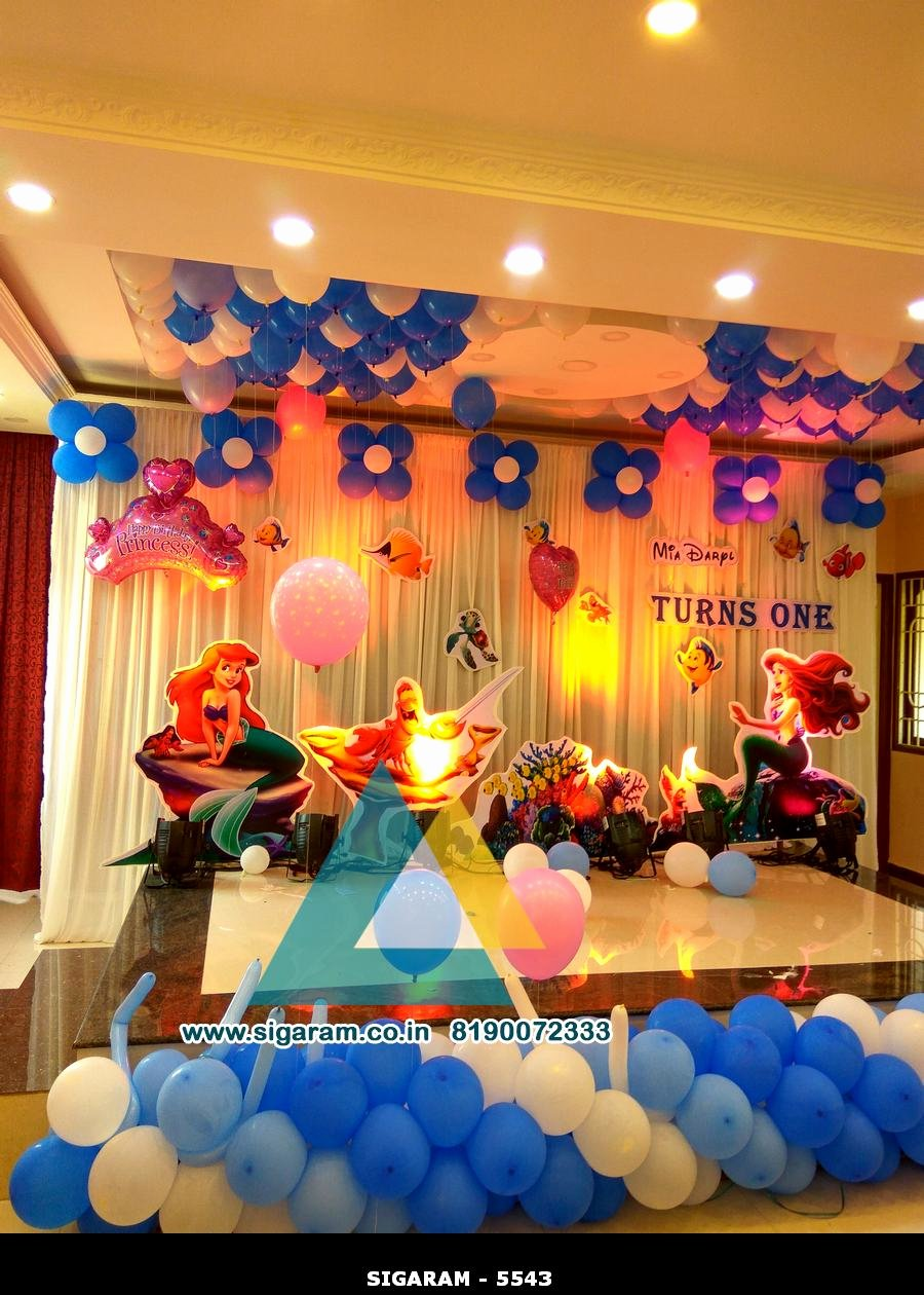 Birthday Decoration Ideas at Hall Fresh 1st Birthday Party Hall Decorations 1st Birthday Ideas