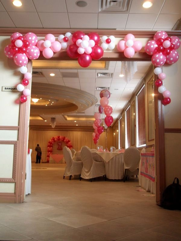 Birthday Decoration Ideas at Hall Fresh Princess Party Balloon Decorations