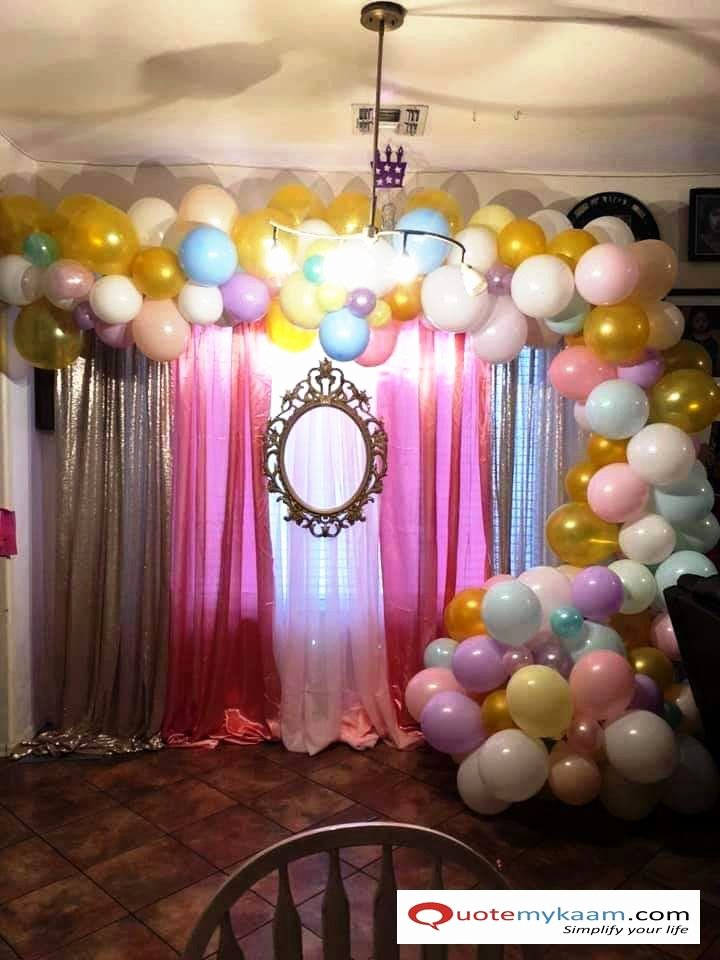 Birthday Decoration Ideas at Hall Unique Pin by Quotemykaam On Birthday Decoration Ideas