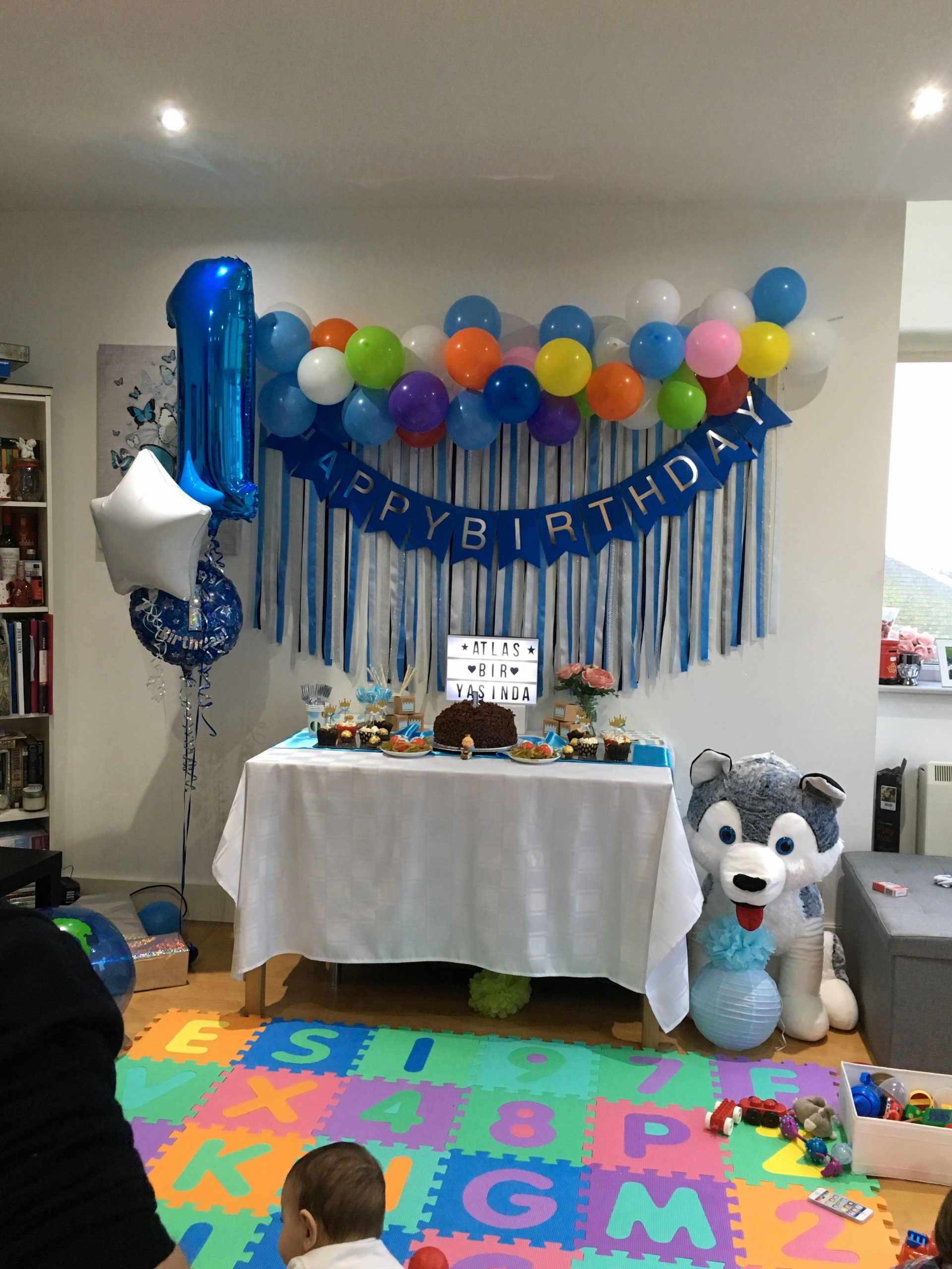 Birthday Decoration Ideas at Home for Baby Boy Awesome 137 Best Ideas Baby Boy 1st Birthday Birthday Table