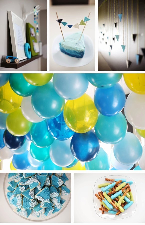 Birthday Decoration Ideas at Home for Baby Boy Inspirational 43 Dashing Diy Boy First Birthday themes