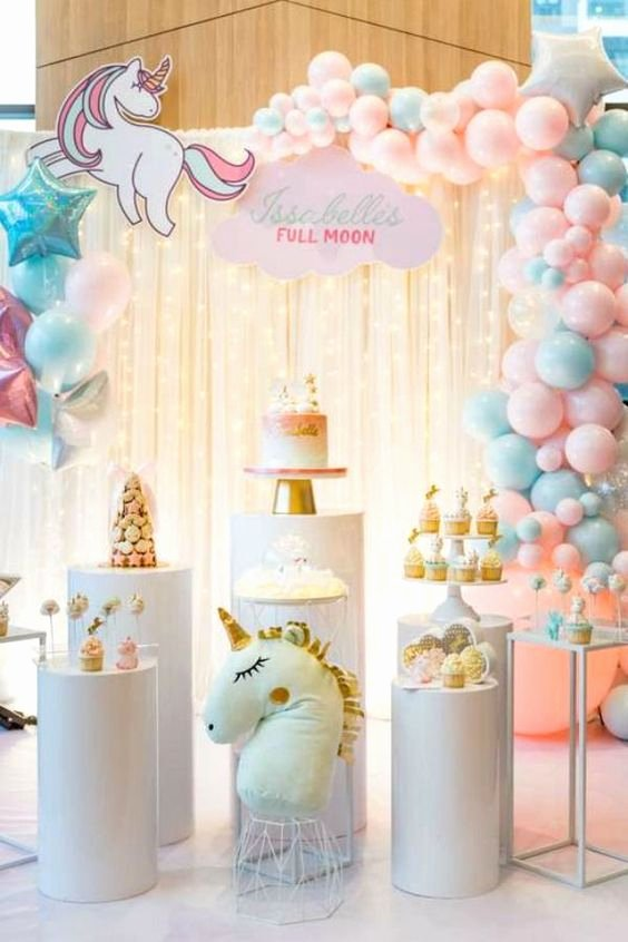 Birthday Decoration Ideas at Home for Baby Girl Best Of Don T Miss these 19 Popular Girl 1st Birthday themes