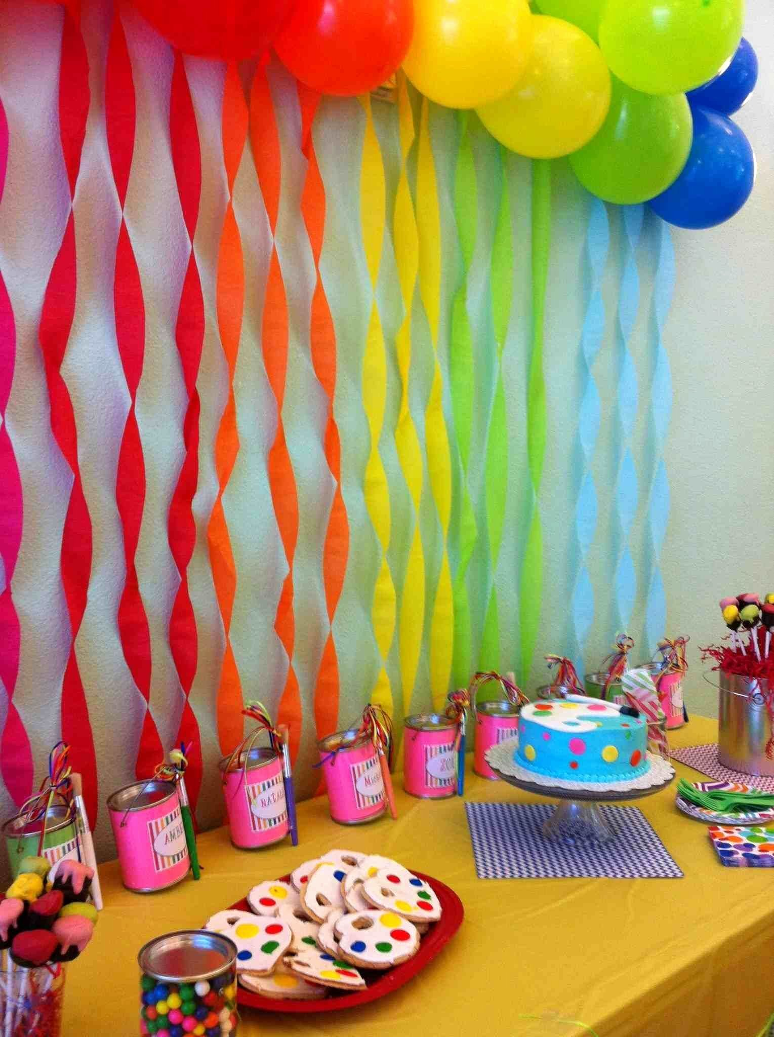 Birthday Decoration Ideas at Home for Girls Unique Birthday Decoration Ideas at Home for A Girl with Images
