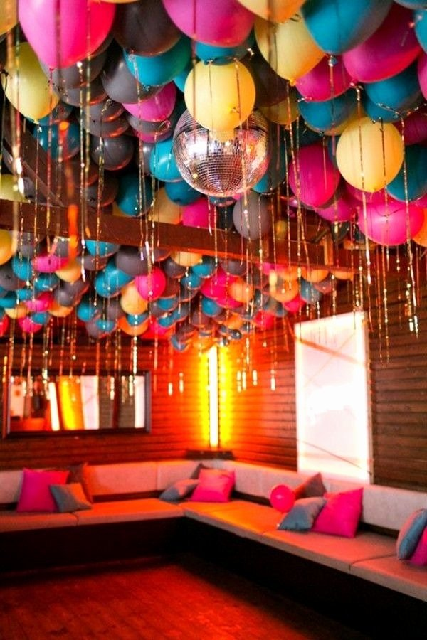 Birthday Decoration Ideas Balloon Elegant 40 Creative Balloon Decoration Ideas for Parties Birthday