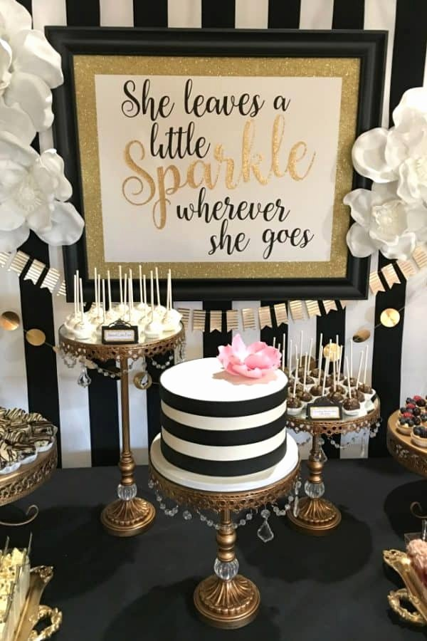 Birthday Decoration Ideas Black and Gold Fresh 35 Fantastic 40th Birthday Party themes You Need to Explore