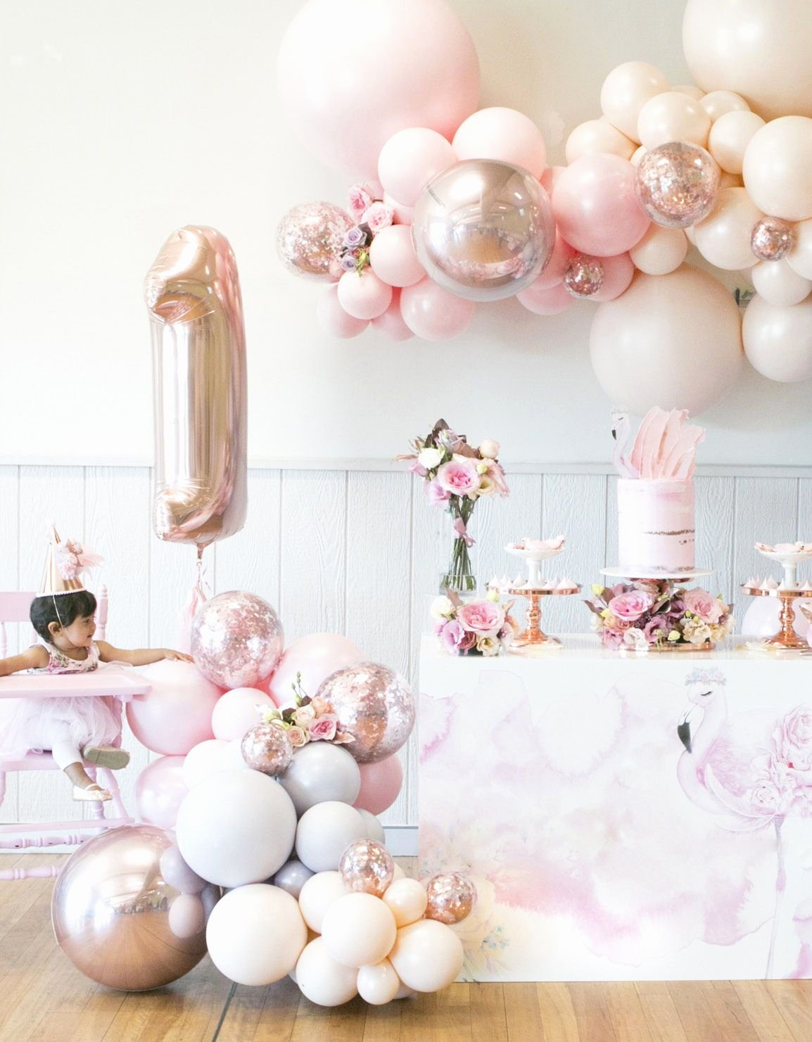Birthday Decoration Ideas for 1 Year Old Baby Girl Awesome Celebrating Little Es issue Four