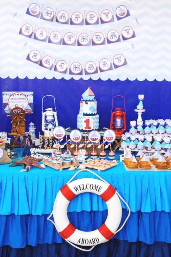Birthday Decoration Ideas for 1 Year Old Boy Awesome Check Out the 12 Most Popular Boy 1st Birthday Party themes