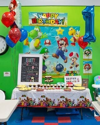Birthday Decoration Ideas for 1 Year Old Boy Beautiful Creative First Birthday Party Ideas