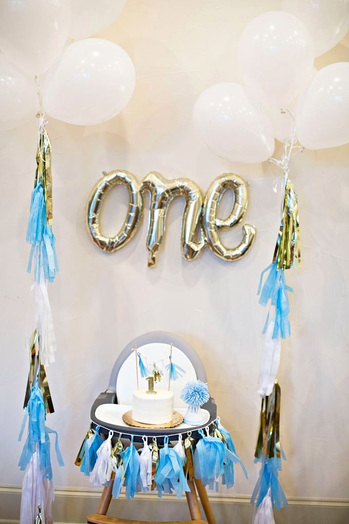 Birthday Decoration Ideas for 1 Year Old Boy Best Of William S First Birthday