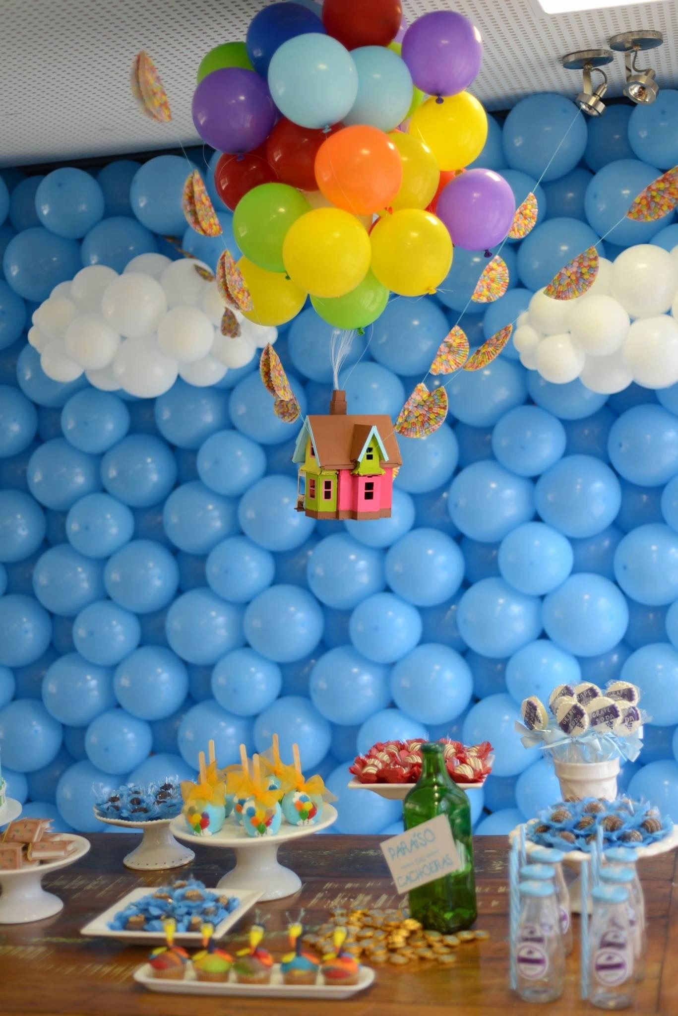 Birthday Decoration Ideas for 1 Year Old Boy Unique Pin by Aℓana Yarbrough On Festa Up Altas Aventuras Bernardo