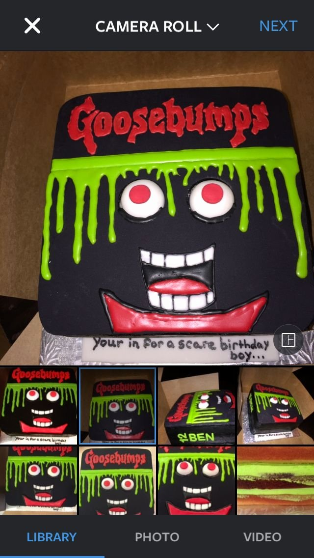 Birthday Decoration Ideas for 10 Year Old Boy New Custom Designed Goosebumps Cake for 10 Year Old Boy