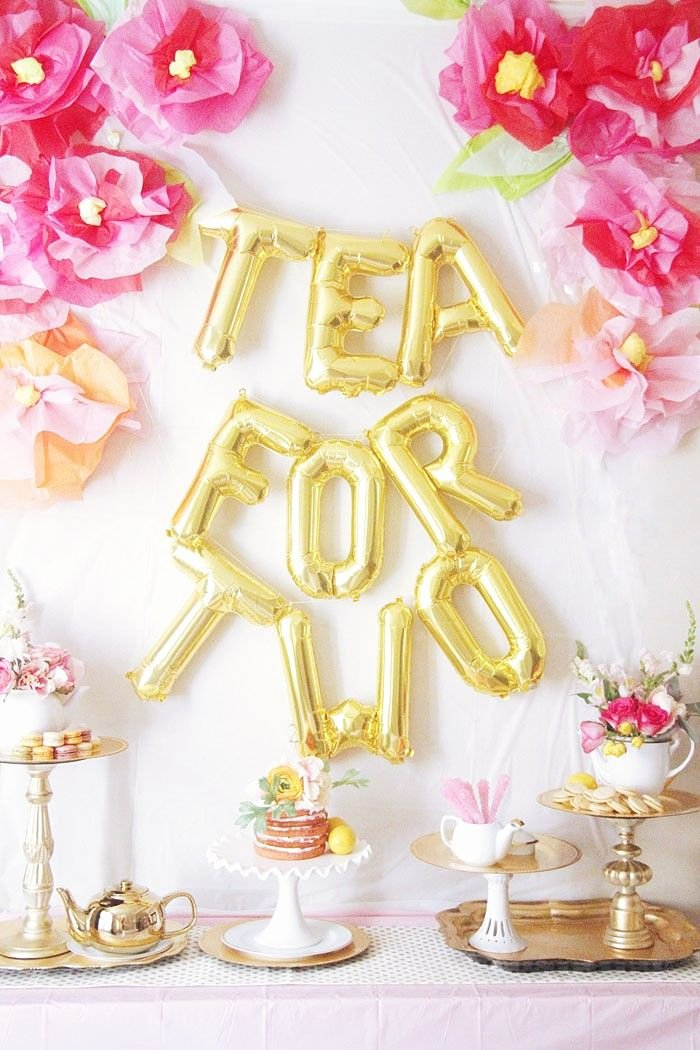 Birthday Decoration Ideas for 2 Year Girl Elegant Tea for 2 Birthday Party Ideas Home