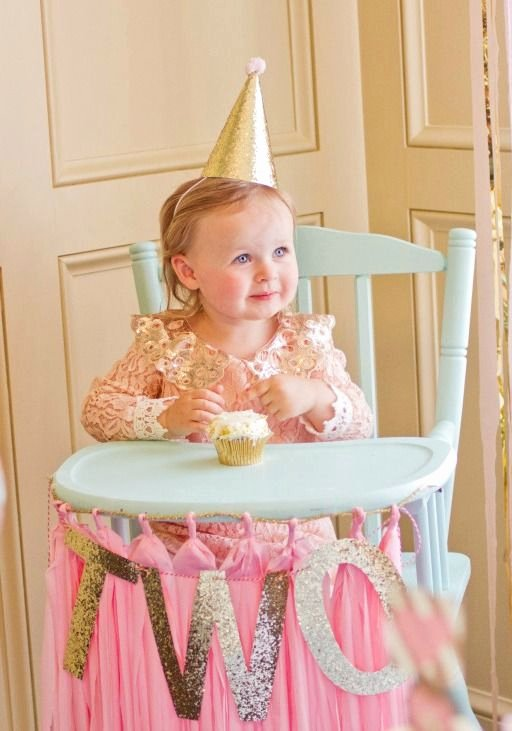 Birthday Decoration Ideas for 2 Year Girl Lovely Brid S Pink and Gold 2nd Birthday Party Project Nursery