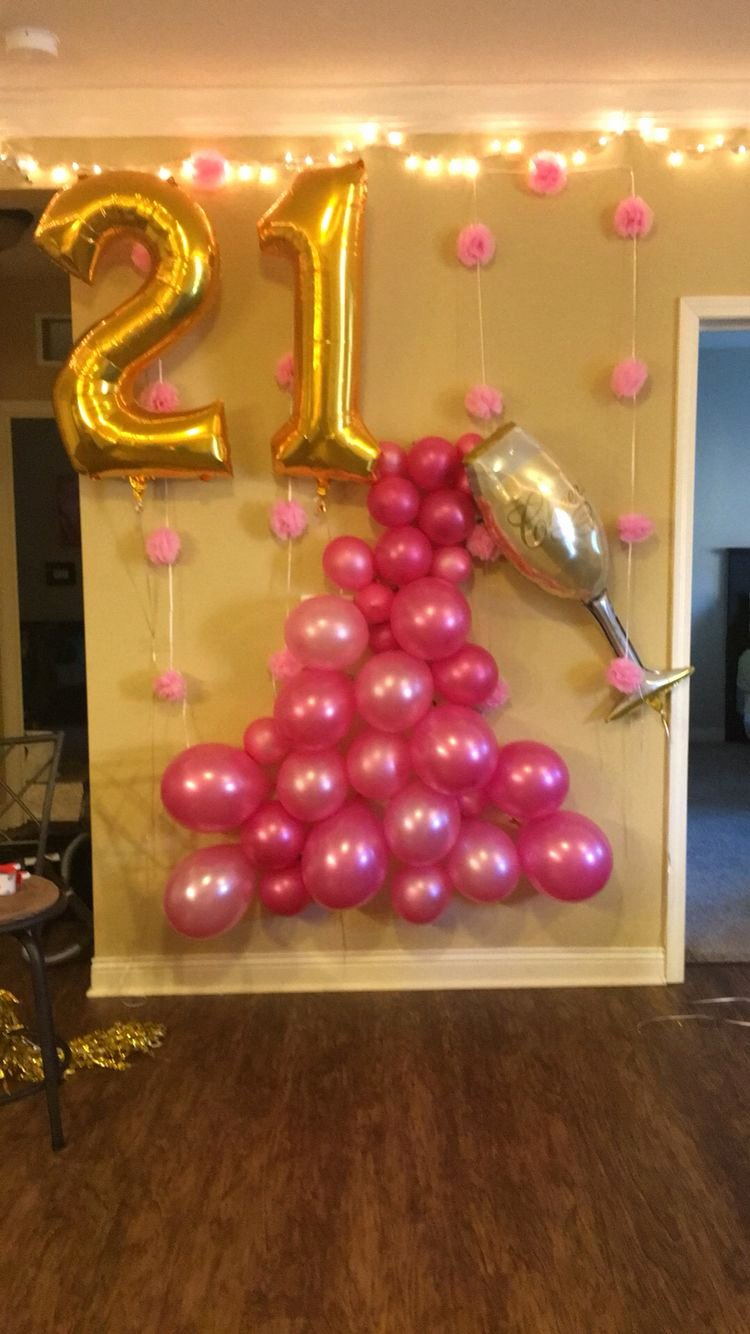 Birthday Decoration Ideas for 21st Luxury More More