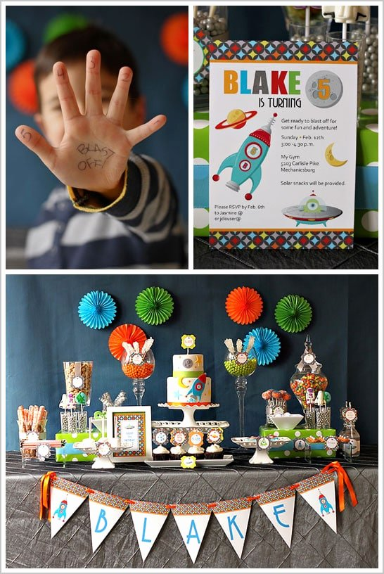 Birthday Decoration Ideas for 5 Year Old Boy Beautiful 33 Awesome Birthday Party Ideas for Boys