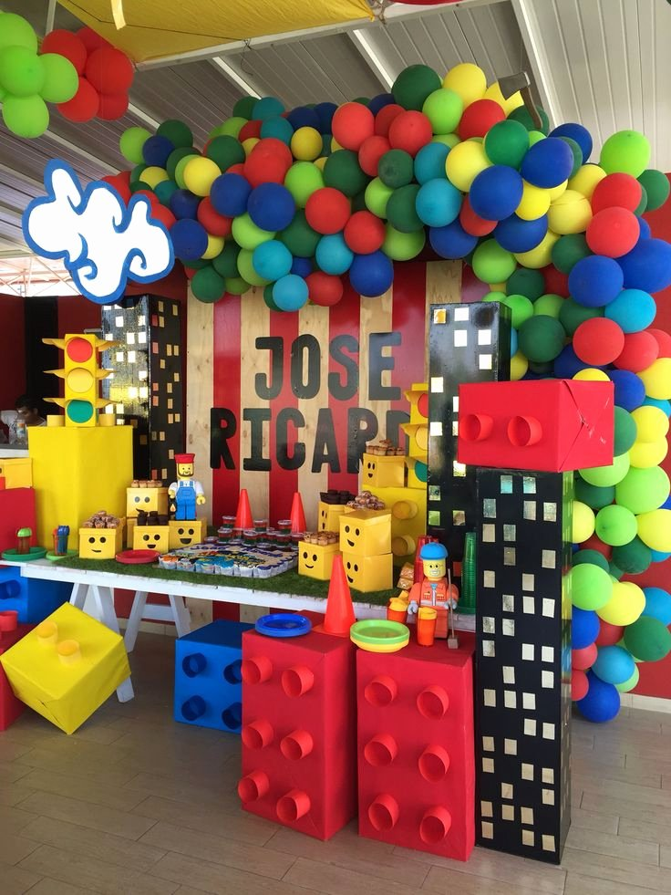 Birthday Decoration Ideas for 5 Year Old Boy Beautiful 50 Cool Birthday Party themes for Boys