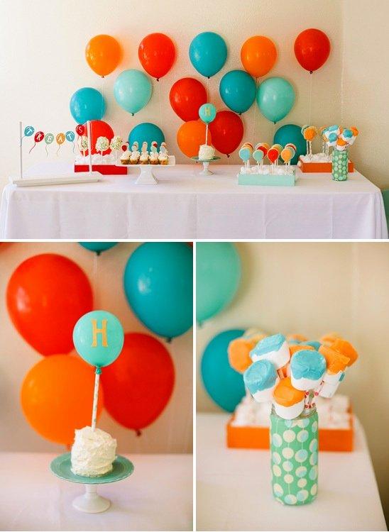 Birthday Decoration Ideas for Baby Boy at Home Awesome 43 Dashing Diy Boy First Birthday themes