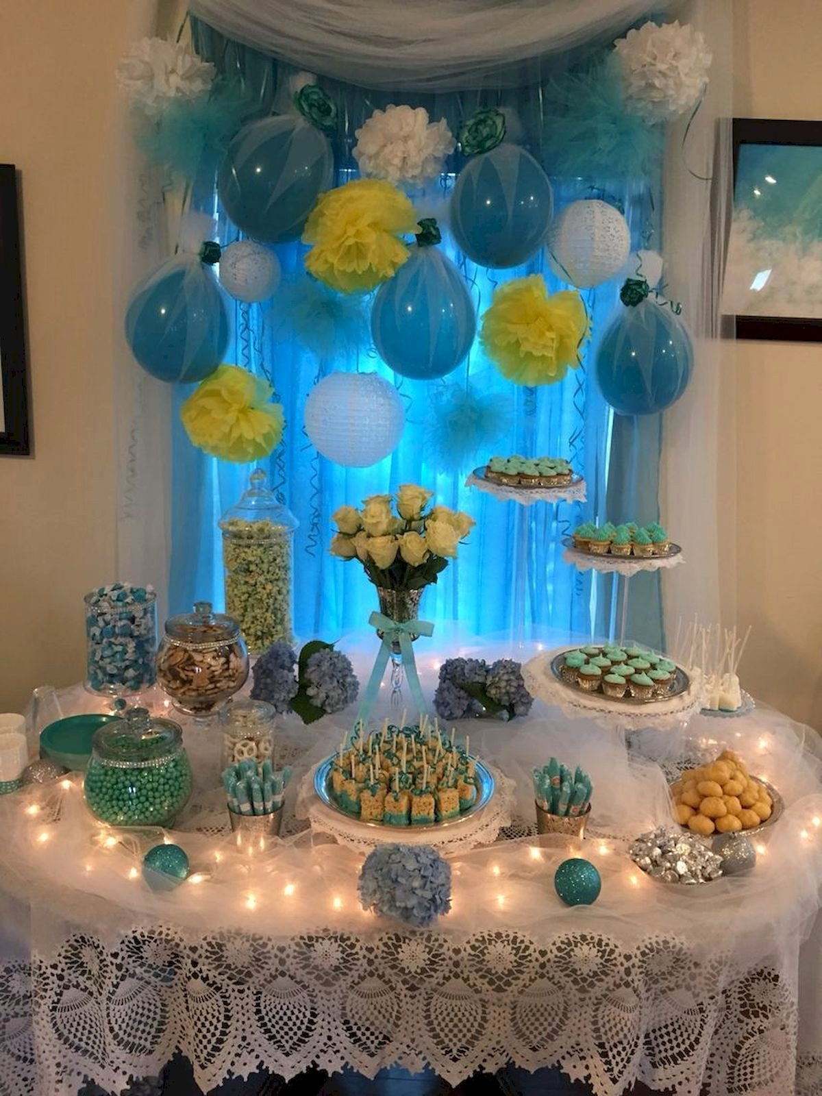 Birthday Decoration Ideas for Baby Boy at Home Awesome 50 Awesome Baby Shower themes and Decorating Ideas for Baby