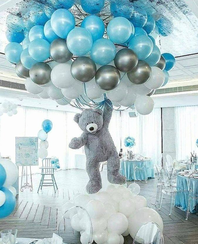 Birthday Decoration Ideas for Baby Boy at Home Beautiful Creative Baby Shower themes Decor Ideas theme for Boy