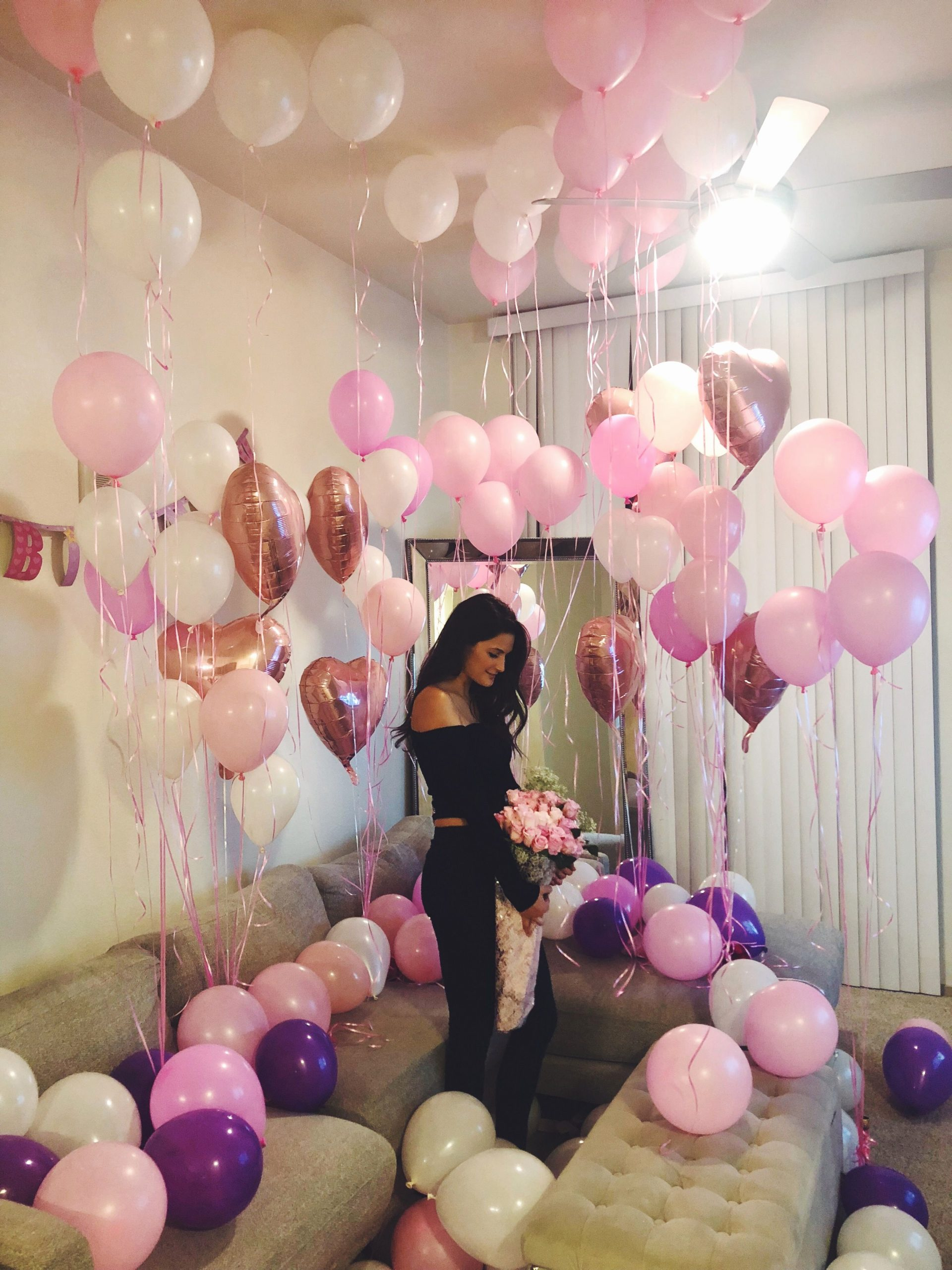 Birthday Decoration Ideas for Gf Inspirational Birthdaygirl Balloons Birthdaysurprise