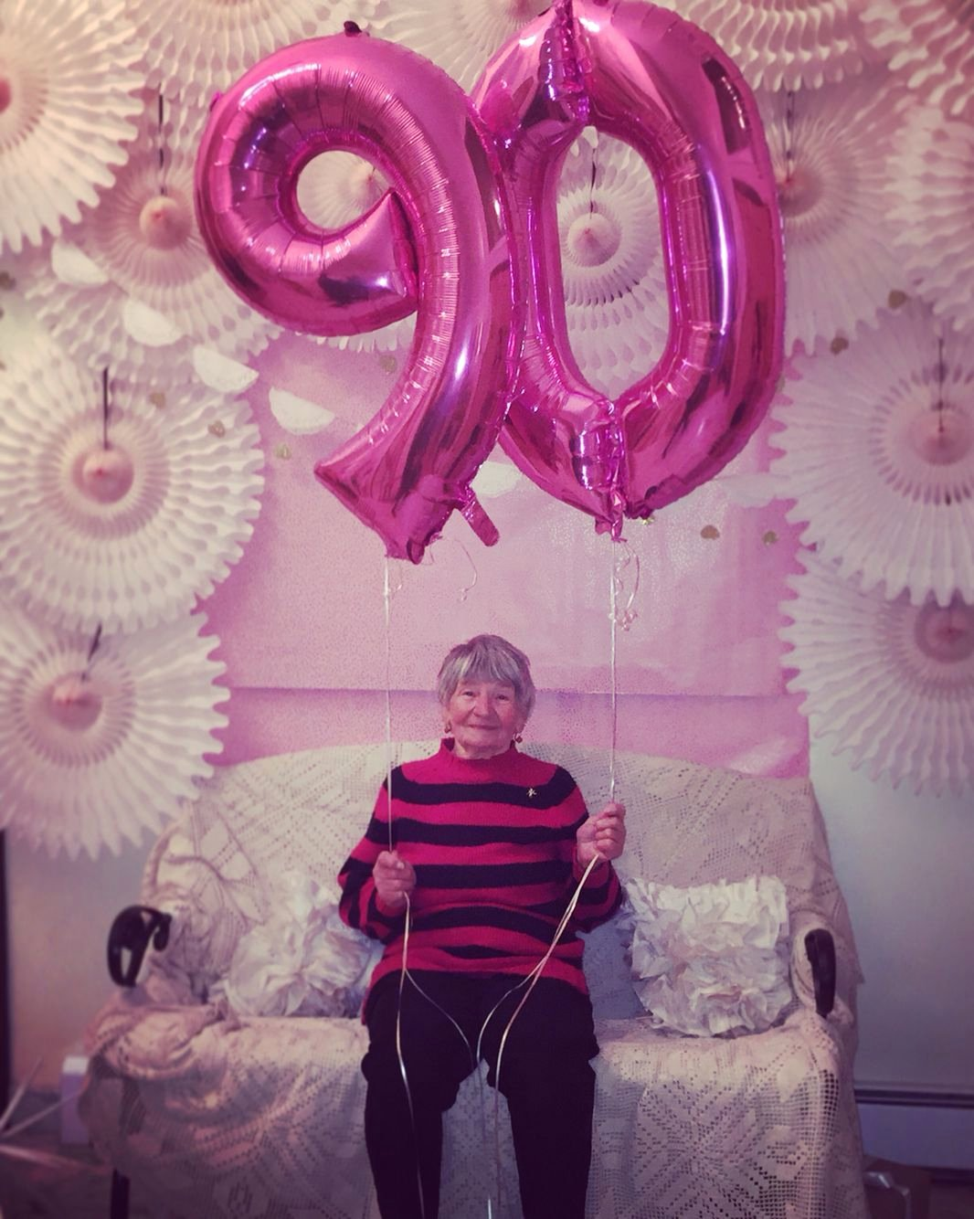 Birthday Decoration Ideas for Grandma Awesome Grandma Mother S 90th Birthday Party Photo Backdrop