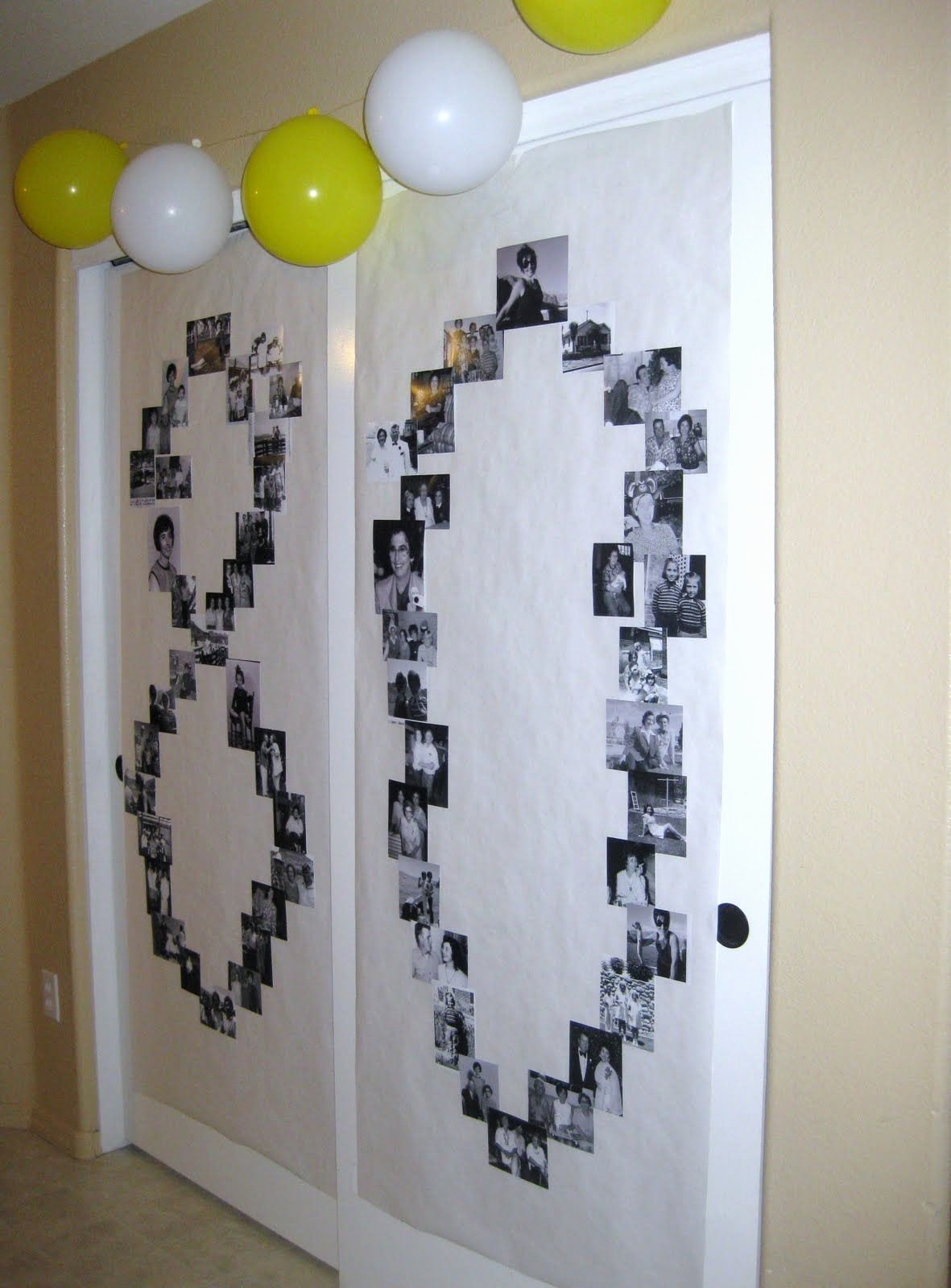 Birthday Decoration Ideas for Grandpa Elegant Photo Art
