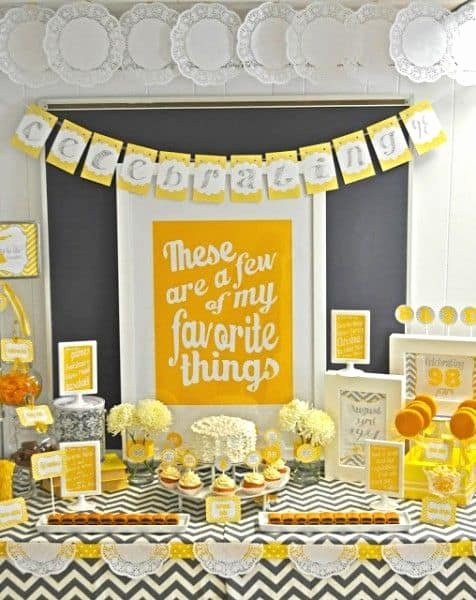 Birthday Decoration Ideas for Grandpa New 90th Birthday Party Ideas 100 Ideas for A Memorable 90th