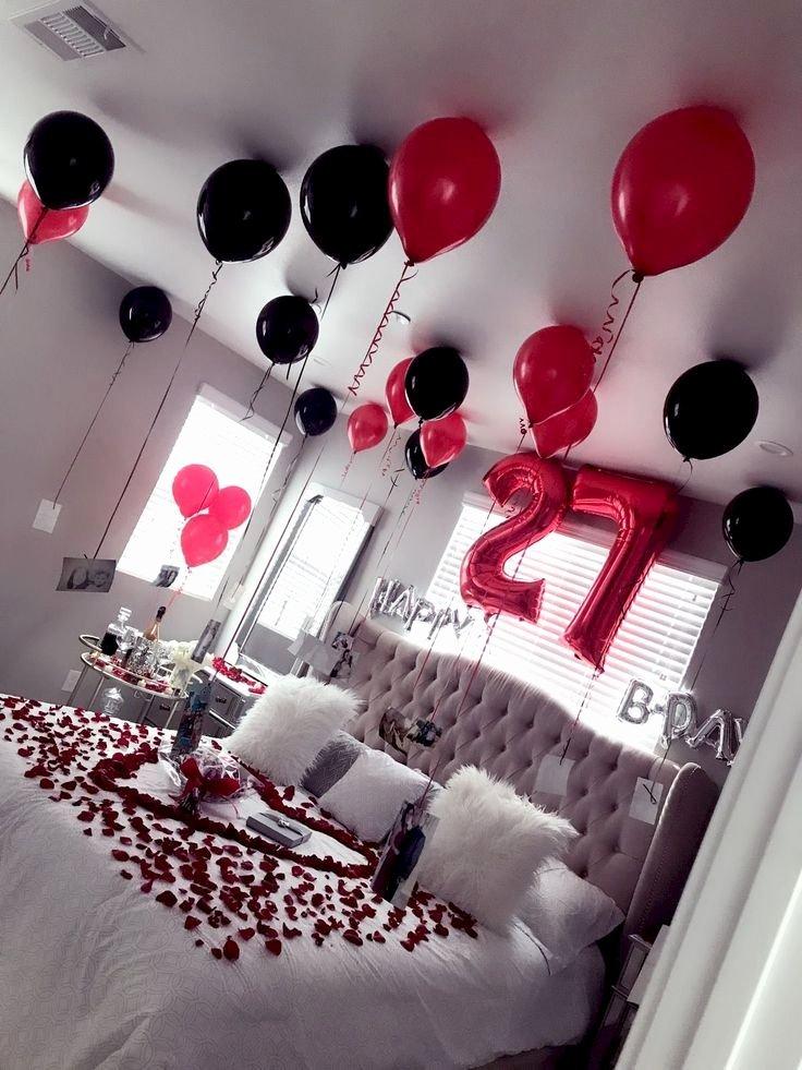 Birthday Decoration Ideas for Him at Home Best Of Birthday Surprise Party Ideas Jihanshanum Birthday