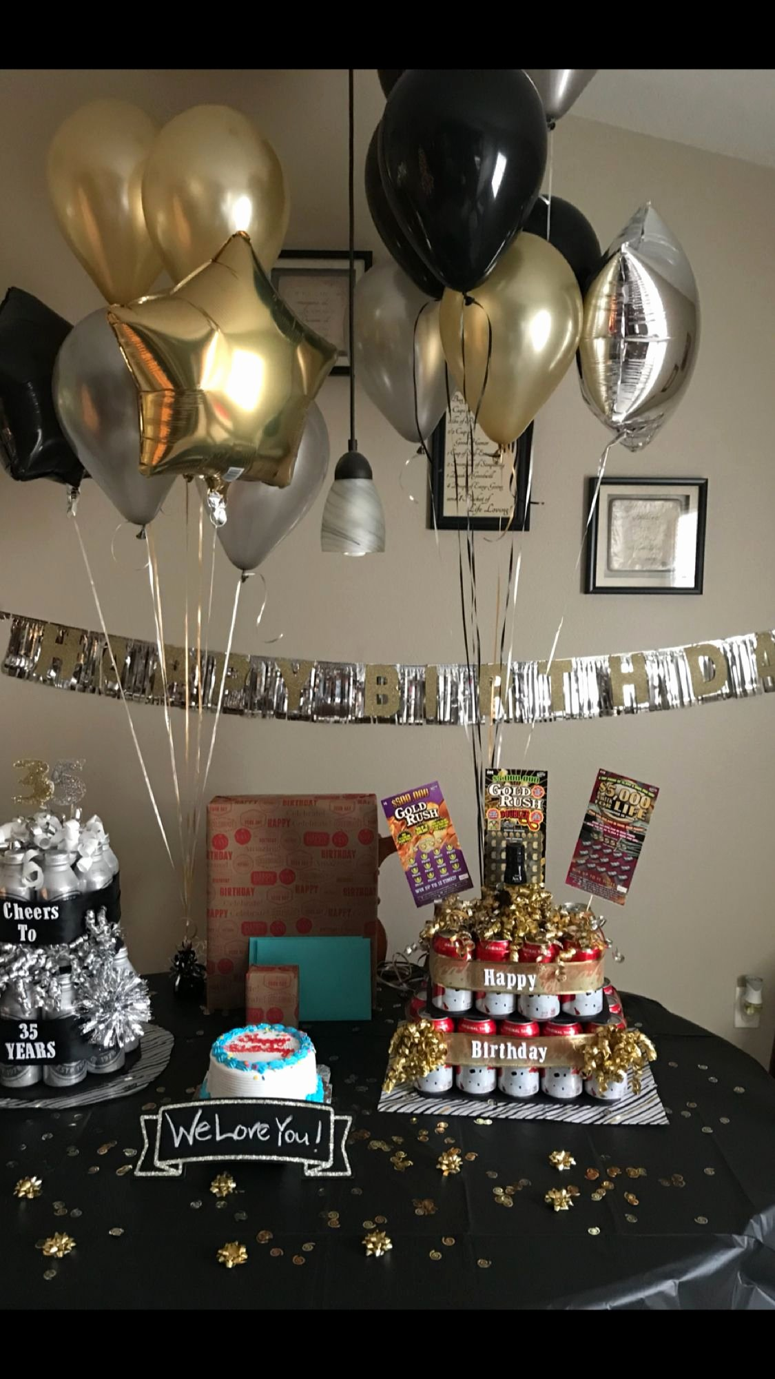 Birthday Decoration Ideas for Him at Home Fresh Husband Birthday Surprise