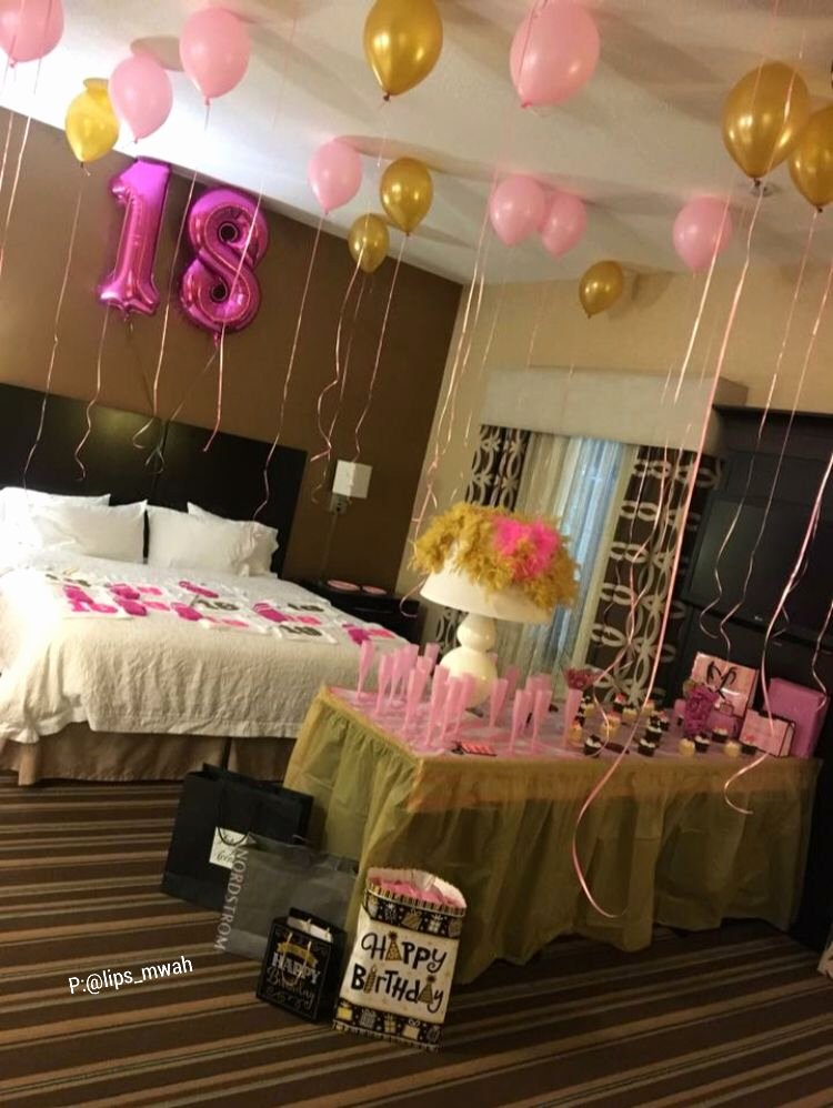 Birthday Decoration Ideas for Hotel Room Fresh Pin by Kaitlyn towles On Decorated Rooms