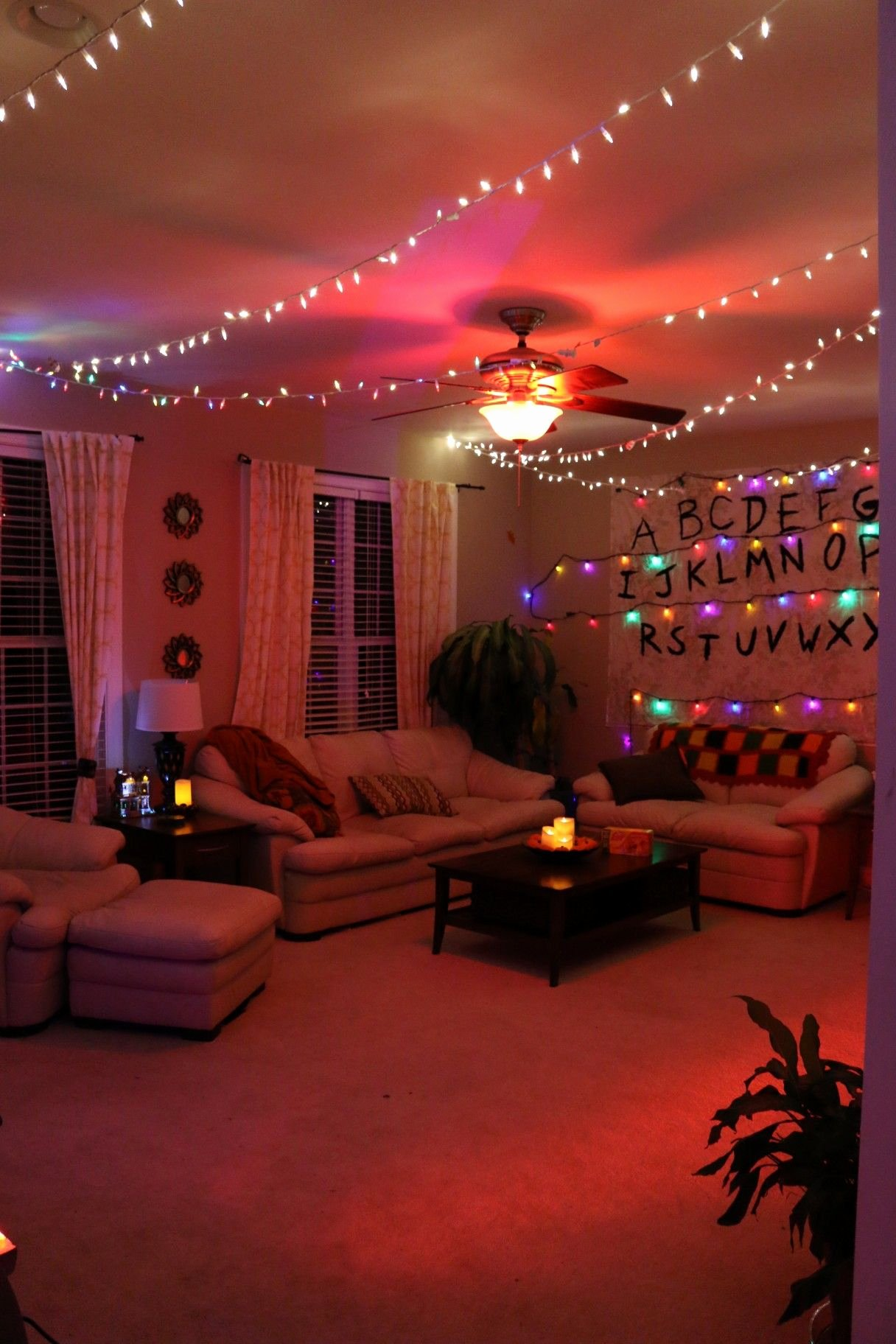 Birthday Decoration Ideas for Living Room Best Of Another Photo Of Stranger Things themed Living Room
