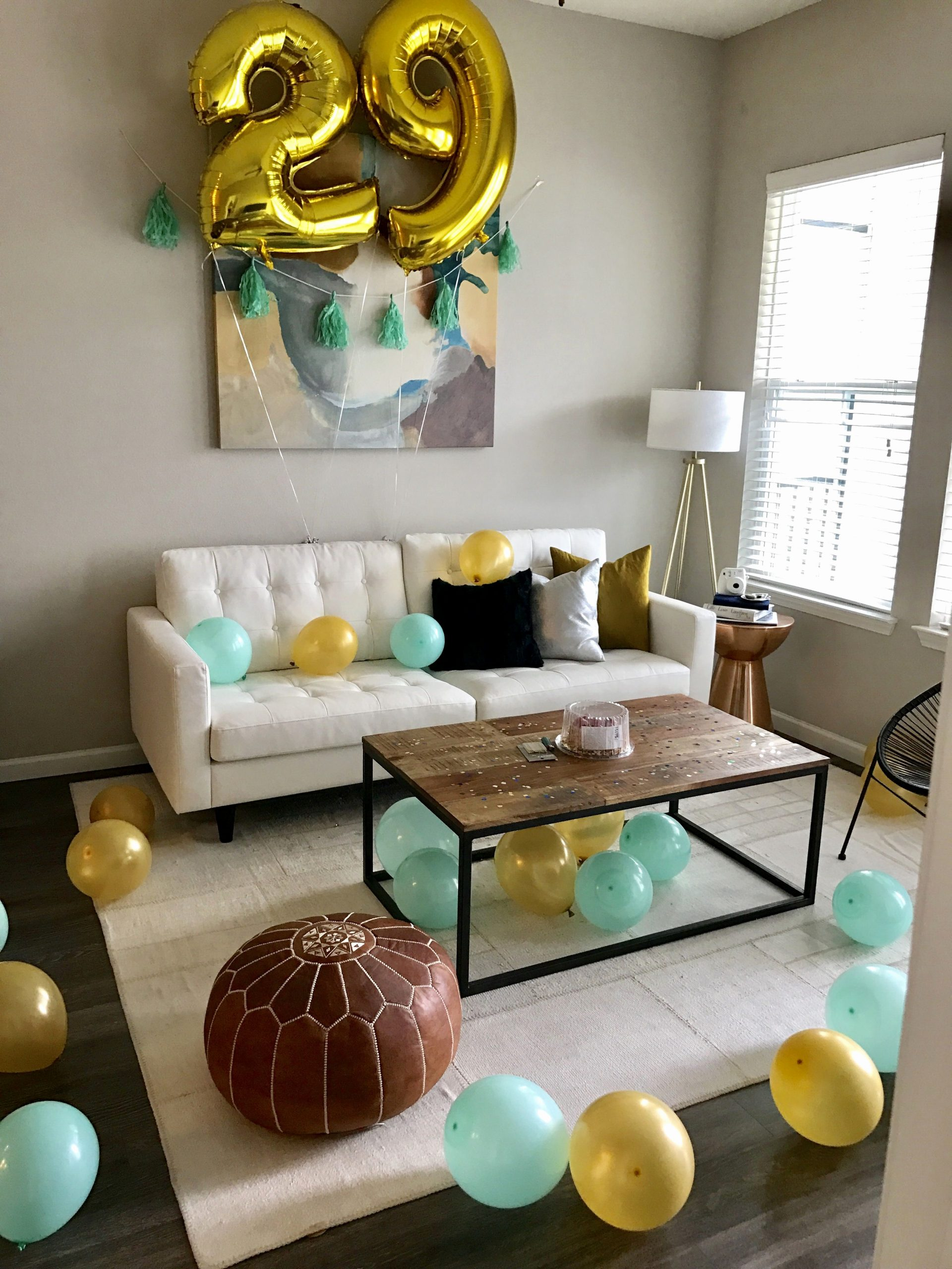 Birthday Decoration Ideas for Living Room Inspirational Birthday Surprise for Him