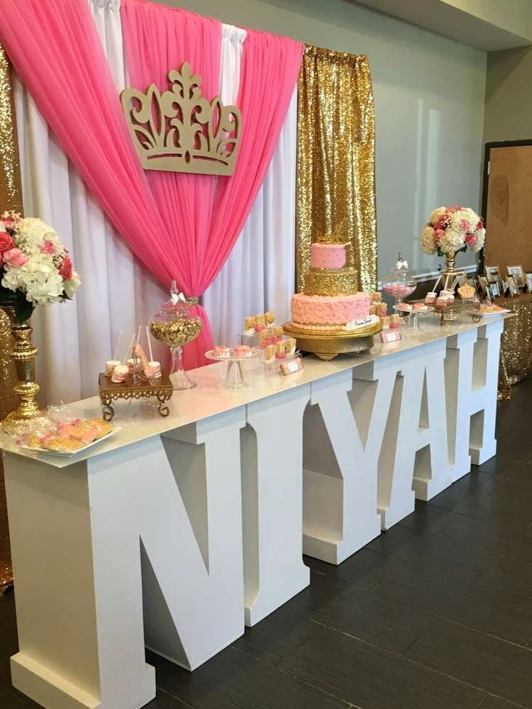 Birthday Decoration Ideas for Sweet 16 Lovely Princess Birthday Party Ideas