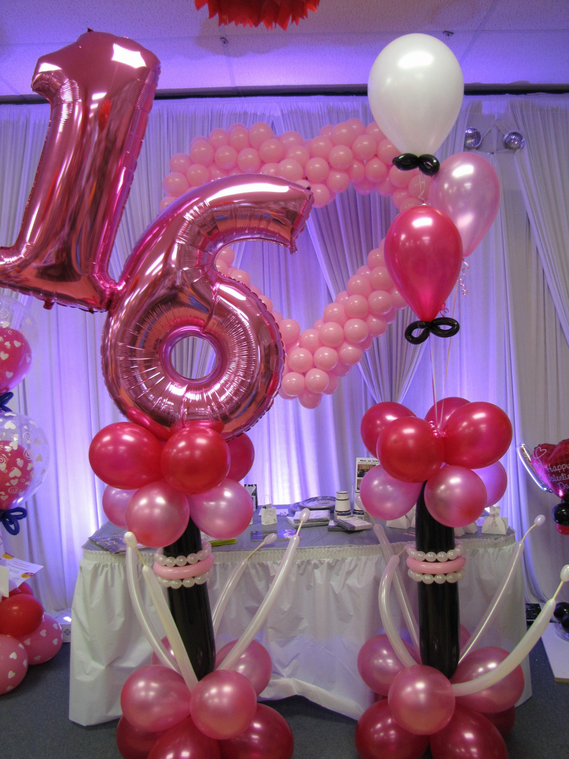 Birthday Decoration Ideas for Sweet 16 Luxury Sweet Sixteen Decorations and Also Sweet Sixteen themes and