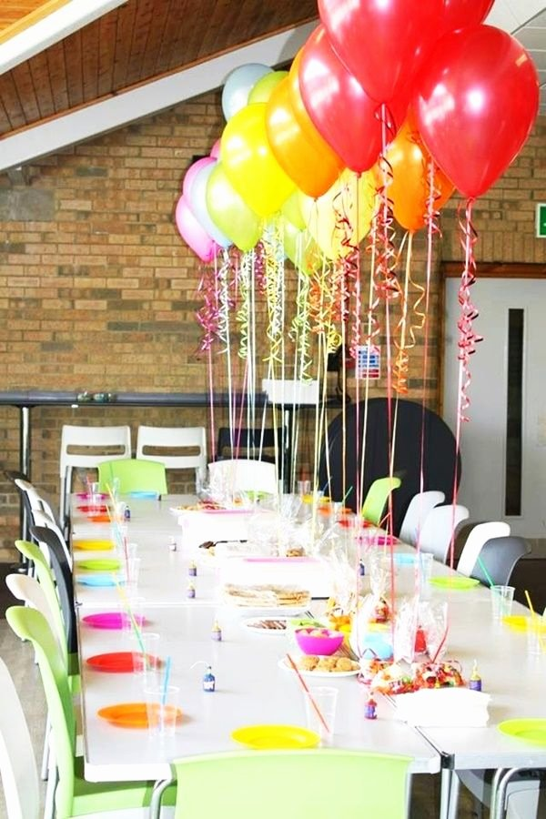 Birthday Decoration Ideas for Table Lovely 40 Quick and Simple Birthday Decoration Ideas