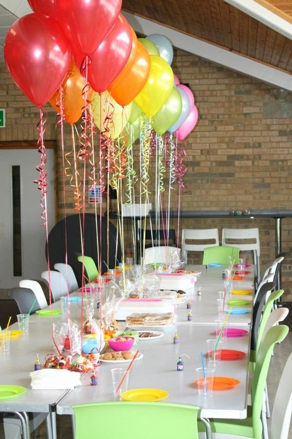 Birthday Decoration Ideas for Table Luxury Wonderful Table Decorations for the Children S Birthday
