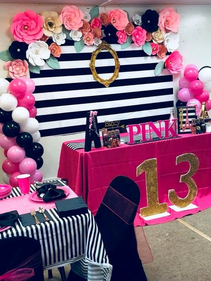Birthday Decoration Ideas for Teenage Girl Beautiful Pink Party