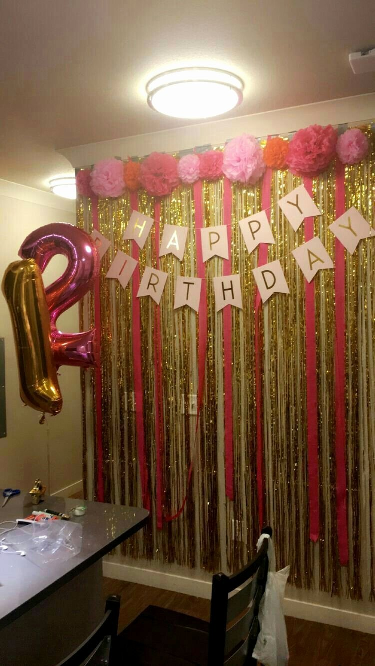 Birthday Decoration Ideas for Wall Best Of Birthday Decor