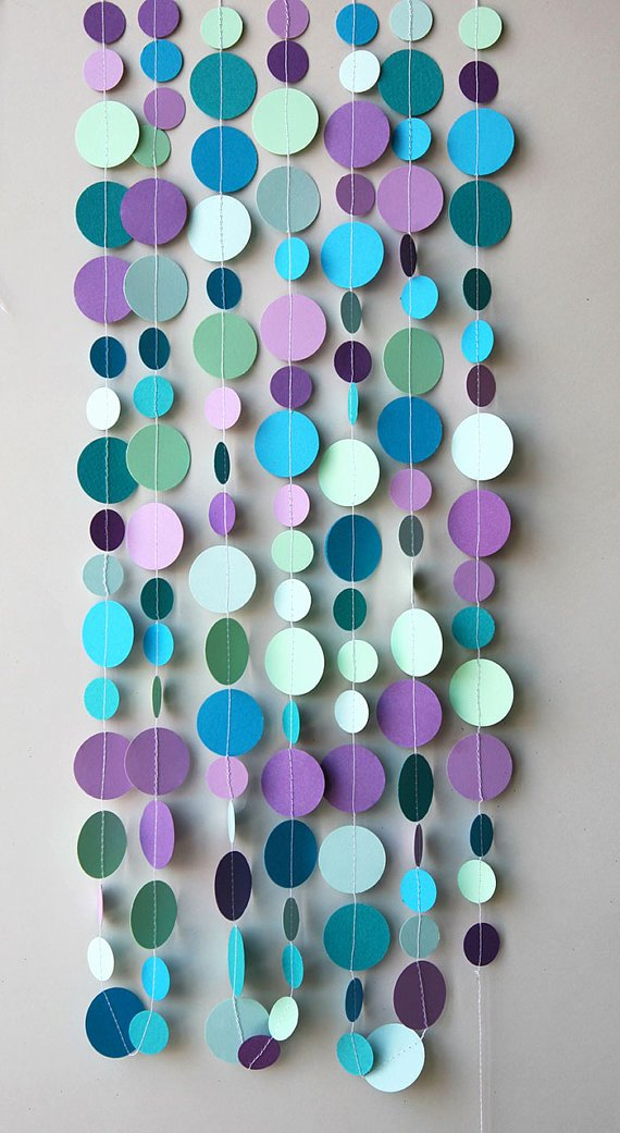 Birthday Decoration Ideas for Wall Lovely Bubbles Party Decoration Mermaid Party Decoration Mermaid