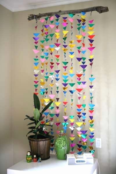 Birthday Decoration Ideas for Wall Luxury Diy Hanging origami Decor