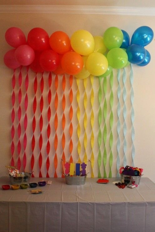 Birthday Decoration Ideas for Wall Luxury Penelope S 1st Birthday Party Kristen Mcashan