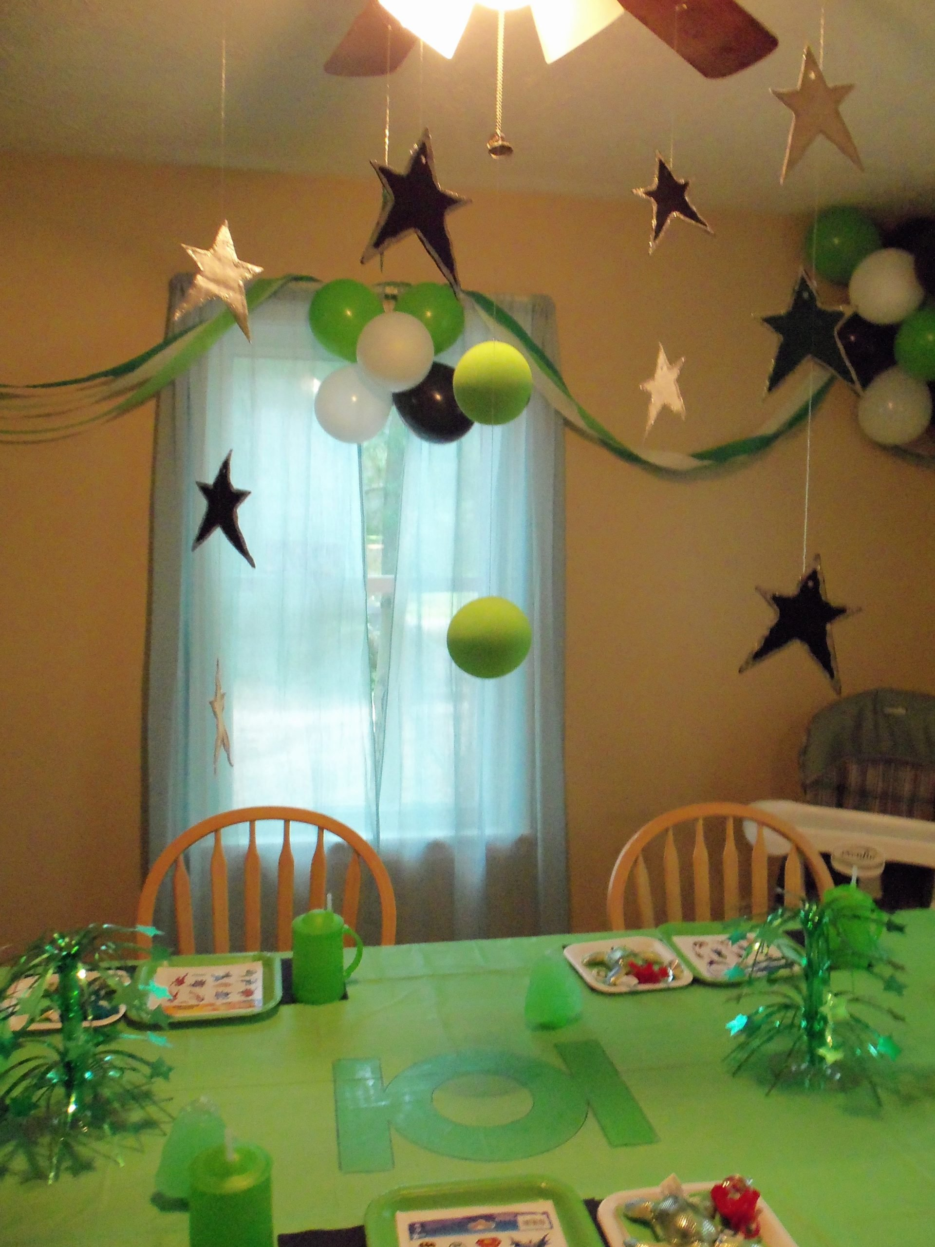 Birthday Decoration Ideas Green New Green Lantern Party We Did for Our Older son S Fourth Party