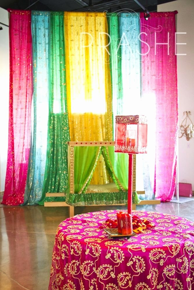 Birthday Decoration Ideas In India Best Of Beautiful Decor with Dupattas