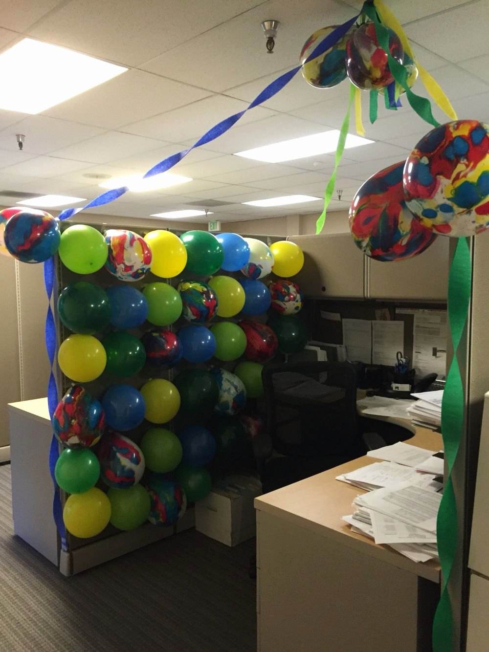 Birthday Decoration Ideas In Office Best Of Guys Birthday Cubicle