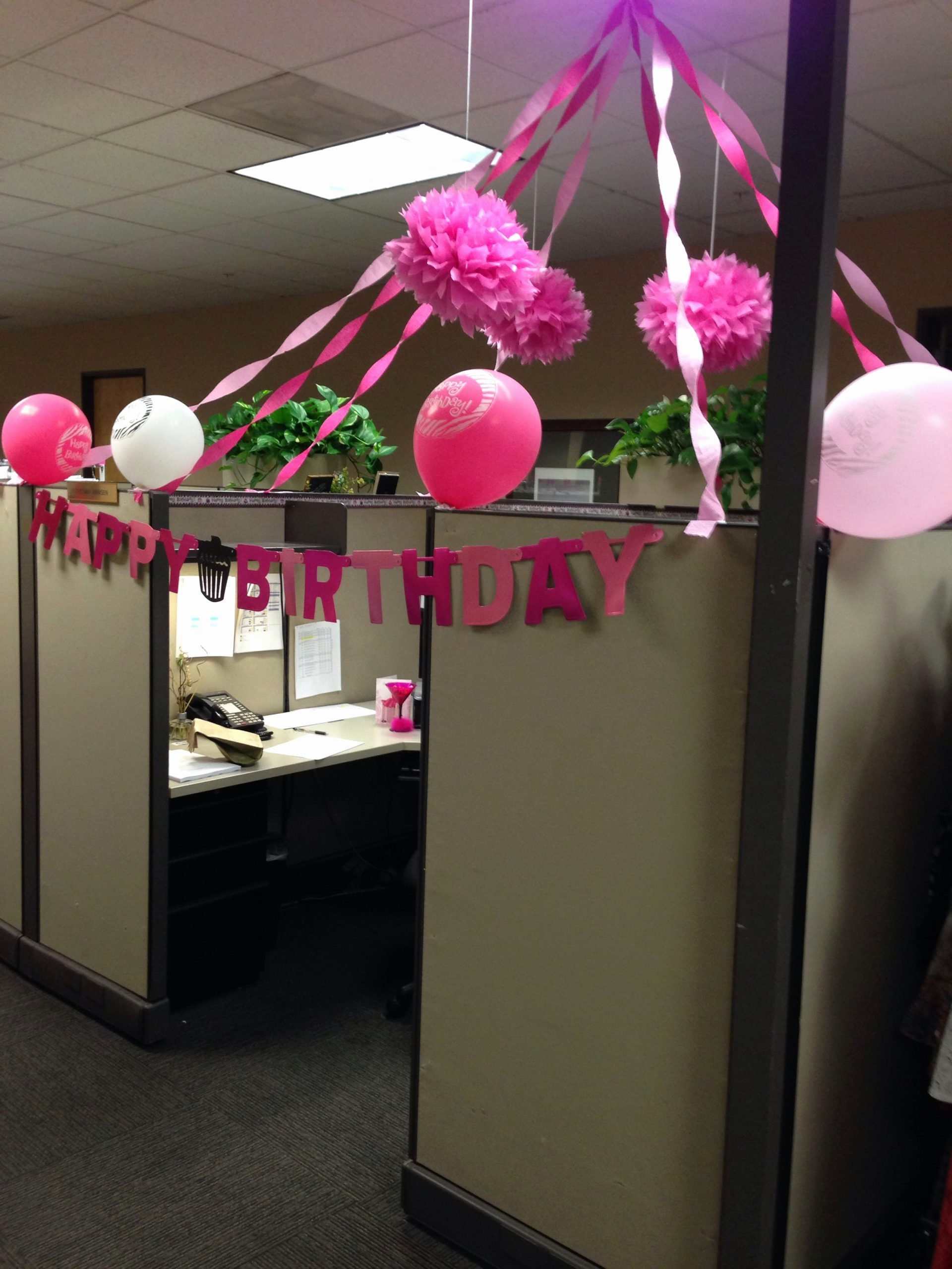 Birthday Decoration Ideas In Office Lovely My Birthday Cubicle