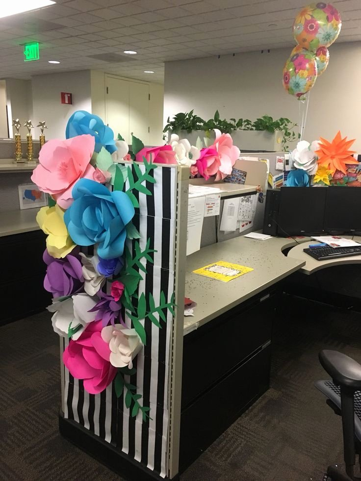 Birthday Decoration Ideas In Office Lovely Pin Auf Birthday Decoration